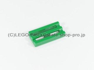 #2412 タイル 1x2 グリル【緑】 /Tile 1x2 Grille :[Green]