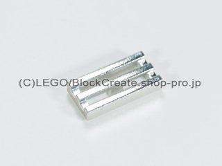 #2412 タイル 1x2 グリル【クローム銀】 /Tile 1x2 Grille :[Chrome Silver]