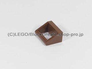 #2432 タイル 1x2 ハンドル【新茶】 /Tile 1x2 with Handle :[Reddish Brown]