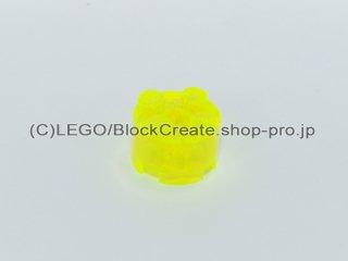 #3941 ブロック 2x2 ラウンド【透明蛍光黄緑】 /Brick 2x2 Round :[Tr,Neon Green]