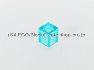#3005 ブロック 1x1【透明水色】 /Brick 1 x 1 :[Tr,Lt Blue]
