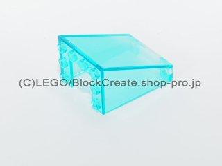 #4872 ウィンドスクリーン 3x4x4【透明水色】 /Windscreen 3x4x4 Inverted :[Tr,Lt Blue]