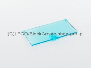 #60616 ドア ガラス 1x4x6【透明水色】 /Door for Frame 1x4x6 with Stud Handle :[Tr,Lt Blue]