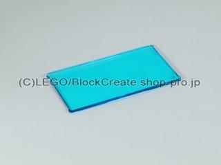 #57895 ウィンドウ ガラス 1x4x6【透明水色】 /Glass for Window 1x4x6 :[Tr,Lt Blue]