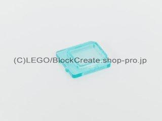 #4862 ウィンドウ ガラス 1x2x2 飛行機【透明水色】 /Glass for Window 1x2x2 Plane :[Tr,Lt Blue]