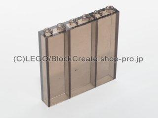 #3754 ブロック 1x6x5【透明濃灰】 /Brick 1x6x5 :[Tr,Black]