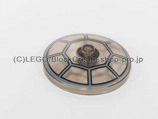 #3960 ディッシュ 4x4 ジェダイスター【透明濃灰】 /Dish 4x4 Inverted with Decoration :[Tr,Black]