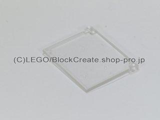 #60603 ウィンドウ ガラス 1x4x3 開閉タイプ【透明】 /Glass for Window 1x4x3 Opening :[Tr,Clear]