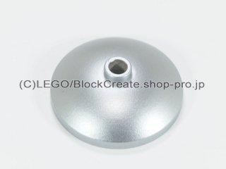 #43898 ラウンド ディッシュ 3x3【メタリックシルバー】 /Dish 3x3 Inverted :[Metallic Silver]