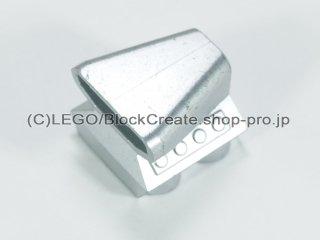 #50943 モーター 2x2x1-1/3【メタリックシルバー】 /Car Engine 2x2 with Air Scoop :[Metallic Silver]