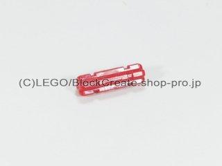#32062 テクニック 十字軸 2 ノッチ(15mm)【赤】 /Axle 2 with Grooves :[Red]