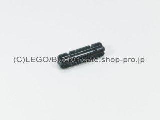 #32062 テクニック 十字軸 2 ノッチ(15mm)【黒】 /Axle 2 with Grooves :[Black]