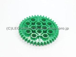 #3649 テクニック ギア 40歯【緑】 /Gear with 40 Teeth :[Green]