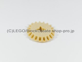 #32198 テクニック べベルギア 20歯【タン】 /Bevel Gear with 20 Teeth :[Tan / タン]