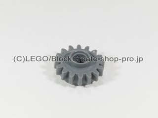 #6542 テクニック クラッチギア 16歯【新濃灰】 /Gear with 16 Teeth and Clutch:[Dark Bluish Gray]
