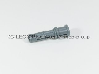 #32054 テクニック ピン ロング ストッパー【新濃灰】 /Long Pin with Friction and Bushing Attached :[Dark Bluish Gray]