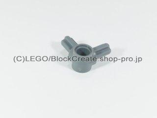 #10197 テクニック ピンコネクター ハブ 十字軸 90°【新濃灰】 /Beam 1m with 2 Axles 90° :[Dark Bluish Gray]