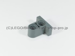 #32530 テクニック ピンコネクター プレート 1x2x1.6【新濃灰】 /Tile 1x2 with Perpendicular Beam 2 :[Dark Bluish Gray]
