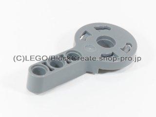 #44224 テクニック ローテーションジョイント(メス)【新濃灰】 /Technic Beam 3 with Rotation Joint 3 Socket :[Dark Bluish Gray]