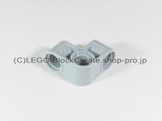 #44809 テクニック ピンコネクター 2x2 ベント【新灰】 /Technic Cross Block 2x2 Bent 90 :[Light Bluish Gray]