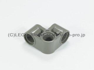 #44809 テクニック ピンコネクター 2x2 ベント【旧濃灰】 /Technic Cross Block 2x2 Bent 90 :[Dark Gray]