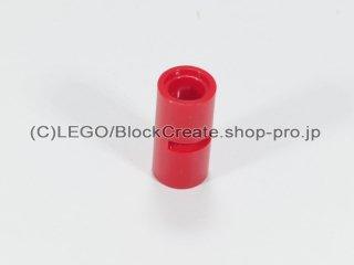 #62462 テクニック ピンコネクター ピンつなぎ(スリット)【赤】 /Pin Joiner Round with Slot :[Red]