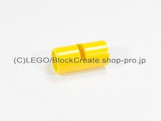 #62462 テクニック ピンコネクター ピンつなぎ(スリット)【黄色】 /Pin Joiner Round with Slot :[Yellow]