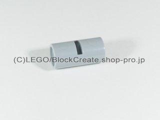 #62462 テクニック ピンコネクター ピンつなぎ(スリット)【新灰】 /Pin Joiner Round with Slot :[Light Bluish Gray]