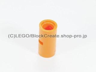 #62462 テクニック ピンコネクター ピンつなぎ(スリット)【オレンジ】 /Pin Joiner Round with Slot :[Orange]