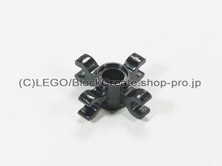 #90202 テクニック ピンコネクター 4クリップ【黒】 /Technic Pin Connector Round with 4 Clips :[Black]