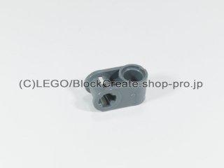 #6536 テクニック 軸/ピンコネクター 1x2 垂直【新濃灰】 /Cross Block 90°1x2 :[Dark Bluish Gray]