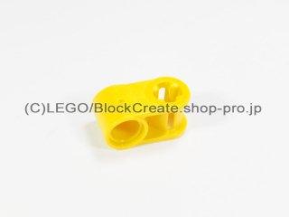 #6536 テクニック 軸/ピンコネクター 1x2 垂直【黄色】 /Cross Block 90°1x2 :[Yellow]