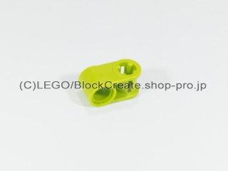 #6536 テクニック 軸/ピンコネクター 1x2 垂直【黄緑】 /Cross Block 90°1x2 :[Lime]