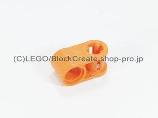 #6536 テクニック 軸/ピンコネクター 1x2 垂直【オレンジ】 /Cross Block 90°1x2 :[Orange]