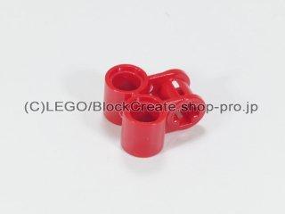 #32291 テクニック 軸/ピンコネクター 2x2 垂直ダブル【赤】 /Technic Cross Block 2x2 :[Red]