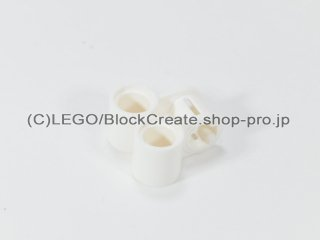 #32291 テクニック 軸/ピンコネクター 2x2 垂直ダブル【白】 /Technic Cross Block 2x2 :[White]