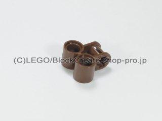 #32291 テクニック 軸/ピンコネクター 2x2 垂直ダブル【旧茶】 /Technic Cross Block 2x2 :[Brown]