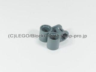 #32291 テクニック 軸/ピンコネクター 2x2 垂直ダブル【新濃灰】 /Technic Cross Block 2x2 :[Dark Bluish Gray]