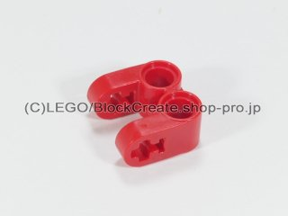 #41678 テクニック 軸/ピンコネクター 2x2 垂直ダブル【赤】 /Technic Cross Block 2x2 Split :[Red]