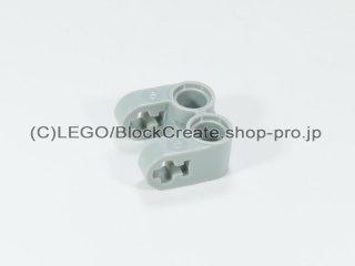 #41678 テクニック 軸/ピンコネクター 2x2 垂直ダブル【旧灰】 /Technic Cross Block 2x2 Split :[Gray]