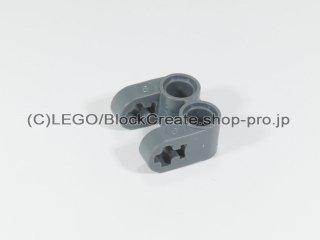 #41678 テクニック 軸/ピンコネクター 2x2 垂直ダブル【新濃灰】 /Technic Cross Block 2x2 Split :[Dark Bluish Gray]