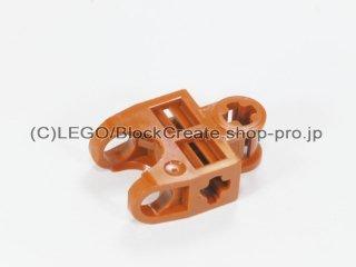#32174 テクニック 軸コネクター 2x3 ボールソケット【ダークオレンジ】 /Ball Connector with Perpendicular Axelholes :[Dark Orange]