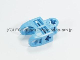 #32174 テクニック 軸コネクター 2x3 ボールソケット【ミディアムブルー】 /Ball Connector with Perpendicular Axelholes :[Md,Blue]