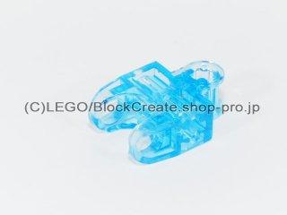 #32174 テクニック 軸コネクター 2x3 ボールソケット【透明薄青】 /Ball Connector with Perpendicular Axelholes :[Tr,Md Blue]