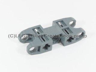 #61053 テクニック 軸コネクター 2x5 Wボールソケット【新濃灰】 /Axle and Pin Connector with Ball Sockets :[Dark Bluish Gray]