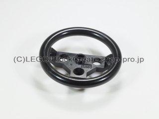 #2741 テクニック ステアリング ホイール(ラージ)【黒】 /Large Steering Wheel :[Black]
