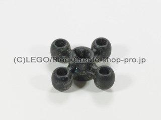 #32072 テクニック ノブ ホイール【黒】 /Technic Gear 4 Knob :[Black]