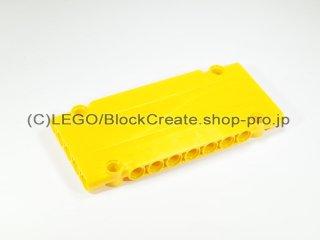 #64782 テクニック パネル 1x5x11【黄色】 /Technic Flat Panel 5x11 :[Yellow]
