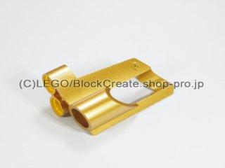 #32528 テクニック パネル #6 ラージホール【ツヤ消金】 /3D Panel 6 :[Metallic Gold]