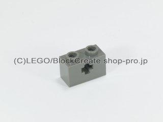 #32064 テクニック  ブロック 1x2  十字穴【旧濃灰】 /Technic Brick 1x2 with Axle Hole :[Dark Gray]